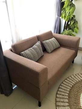 Sofa living room brown color