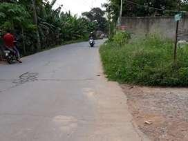 Tanah pinggir jalan dekat Grand Wisata Bekasi