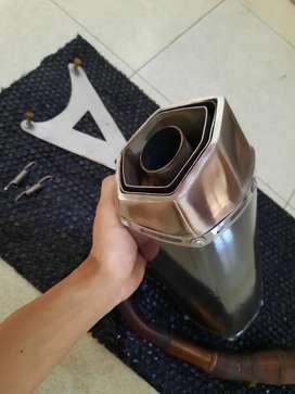 knalpot custom vespa matic