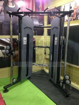 Get full gym setup in heavy duty & imported look machine in your city.