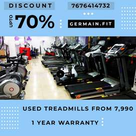 USED MOTORISED TREADMILLs 7,990 onward 1 YEAR WARRANTY 20 Models It's