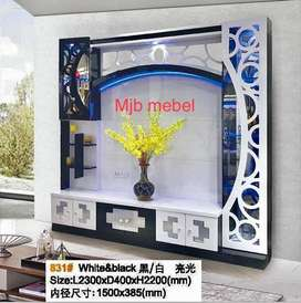 Mjb mebel - SALE lemari tv jumbo bisa cicilan