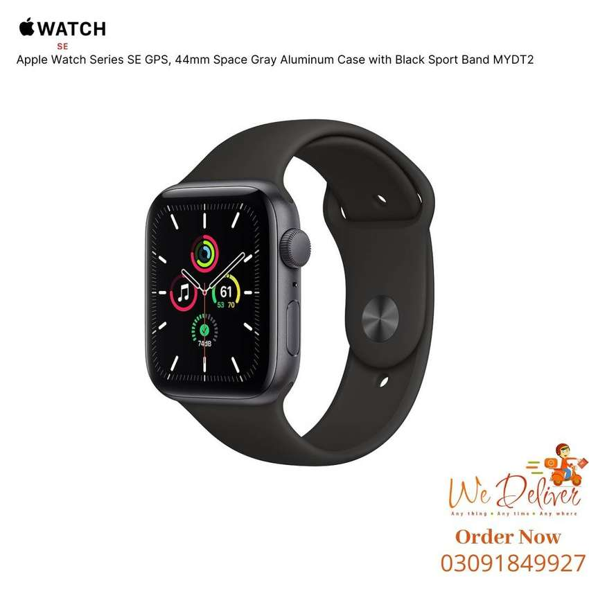 MYDT2 , Space Gray , Apple Watch Series SE GPS 44mm Aluminum Case