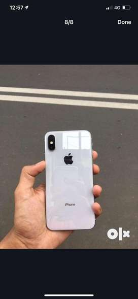 Iphone X 256 gb with second hand shop bill and charger