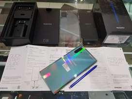 Samsung Note 10+ 12/512GB Aura Glow Pemakaian Bebrapa Hari