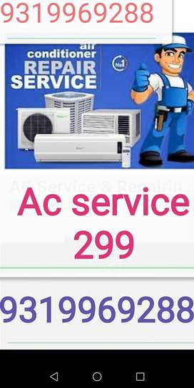 Noida me Sabse kam rate me AC service Gas filling with warranty