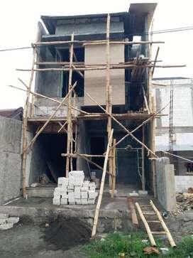 On progress Rumah 2 lantai Rungkut Harapan Dekat Merr, Pondok Tjandra