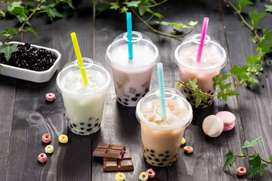 Supplier Bubuk minuman ice blend bubble kekinian halal