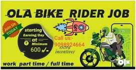 Ride your bike in ola