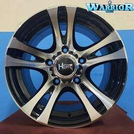 Velg HSR Ring 15 lubang 5 pcd139,7 pelek untuk mobil Veroza katana