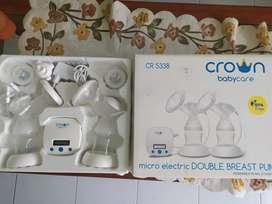 Sale breastpump micro double electric merk crown