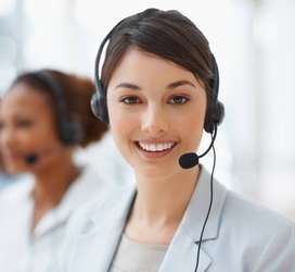 Female Customer Care Executive