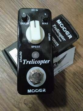 MOOER Trelicopter Optical Tremolo Pedal Micro Series