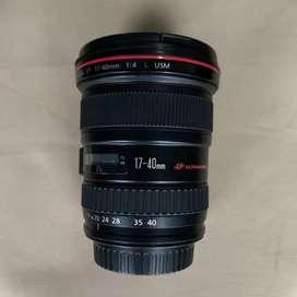 Lensa Canon EF 17-40 F.4 Usm