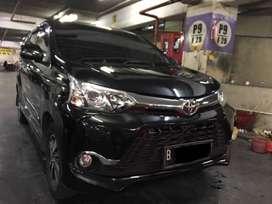 Toyota Veloz 1.5 Thn 2017 Avanza Hitam AT Matic Plat Genap