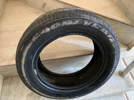 14 inch Good Year car wheel, less run, good condition