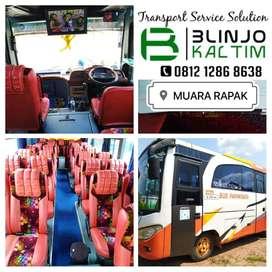 Charter Bus seat 30 Balikpapan