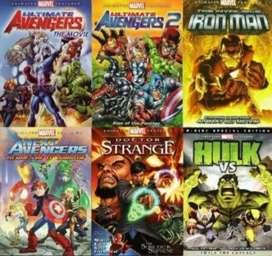 Film Marvel (Avangers, Iron Man, dll) Animasi Subtitle Indonesia