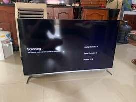 Smart TV coocaa 40s6g like new