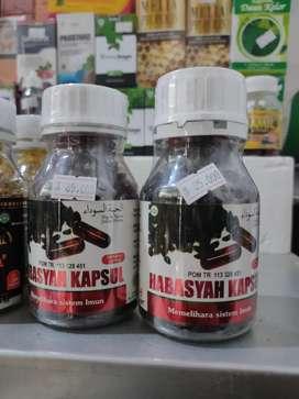 Habbasyah minyak habbatussauda jinten hitam dalam kapsul di Denpasar