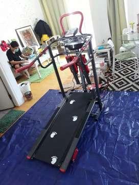 Free ongkir tl 004 manual 6 fungsi Treadmill