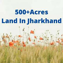 500+Acres plot for sale in Jharkhand