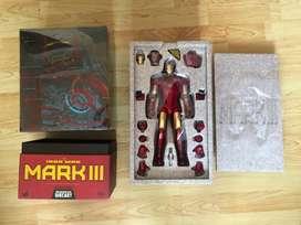 Hot Toys HoToys Iron Man Mark III Diecast Collector Edition