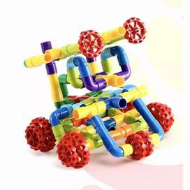 Mainan DIY Blocks Pipa | Mainan Edukasi | Lego