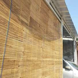 Tirai Bambu 2 x 2 meter