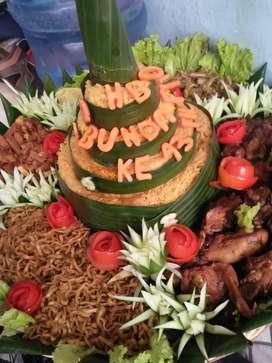 Nasi tumpeng nasi kotak siap selalu dan siaap mendadak snack kue jg ok
