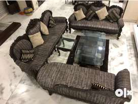 Sofa , centre table, side table, dinning table