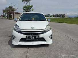 Dp minim hanya 10 jt AGYA G AT 2015 WHITE