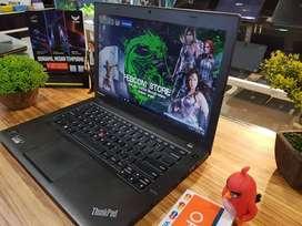 Ready Lenovo Thinkpad ultraBook T440 core i5 RAM 4gb