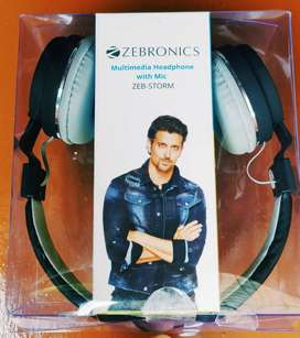 Zebronics Storm Headphones with Mic New one