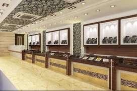 Jewellery showroom for sale