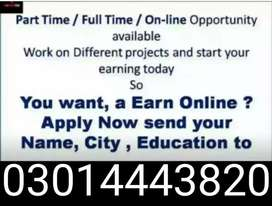 Home Based Work /Limited Seats