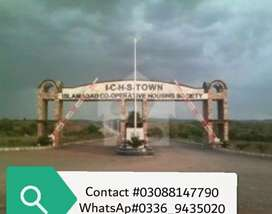 Ichs Town plots files available for sale at very low price
