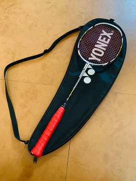 Yonex Arcsaber 7 - Black and Gold Badminton Racquet with Cover!