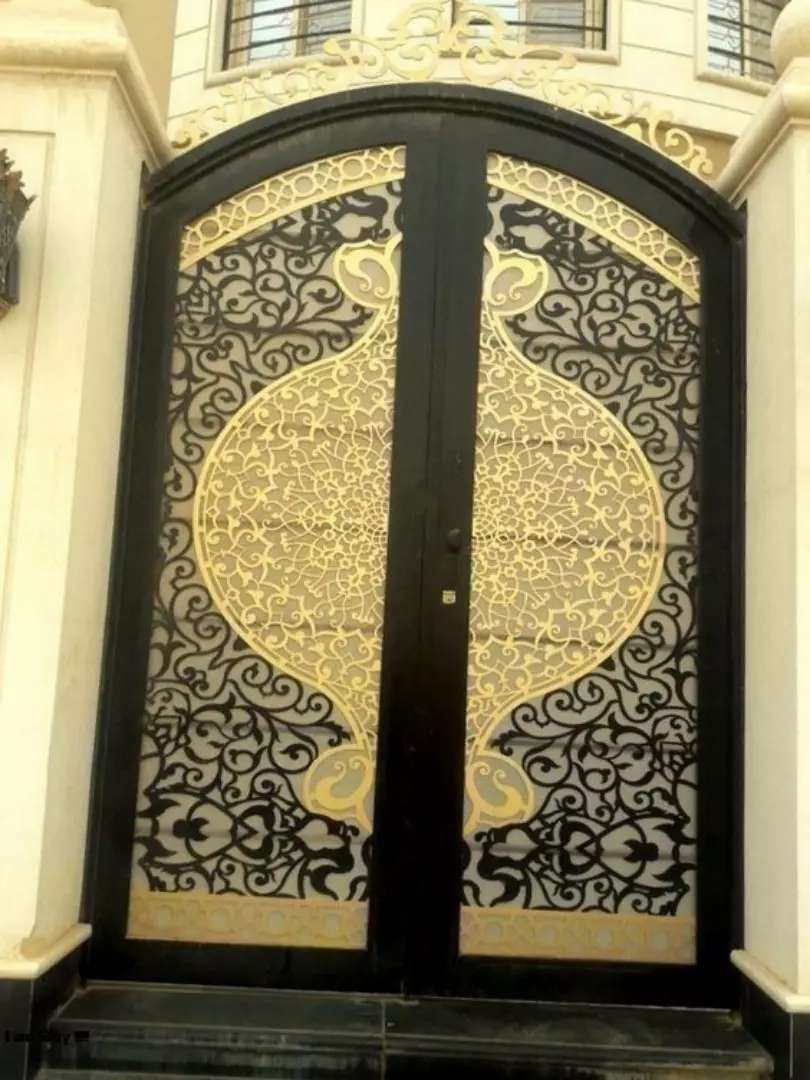 CNC metal designing and cutting for gates, grills and decor 0