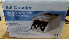 note cash currency counting machine with 100% fake note detection