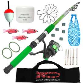 Fishing Spinning Rod,Reel,Accessories Complete Combo.