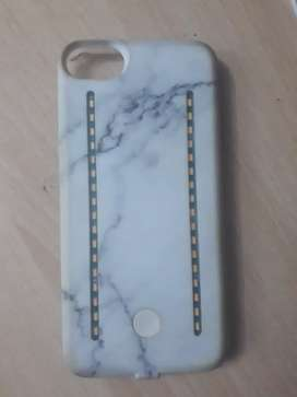 H&M Iphone 6 / 6s / 7 / 8 Marble Design Light Up Case / Cover
