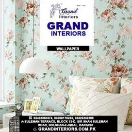 Ambitious wallpapers and wallpanel by Grand interiors