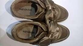 Sepatu nevada warna coklat