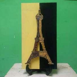 Hiasan Dinding - Hiasan Meja - String Art - Menara Eiffel