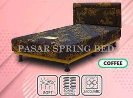 FreeOngkir Spring Bed Kasur Musterring MultibedViennaCoffeeHBMH6 90Set