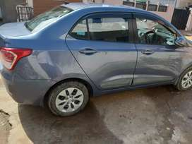 Hyundai xcent petrol car for montly rent on15000