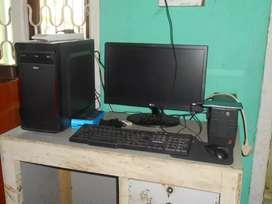 Desktop and Printer
