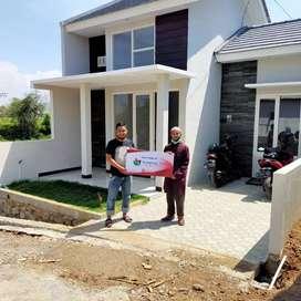 Promo rumah modern Kampung Asri Pandaan