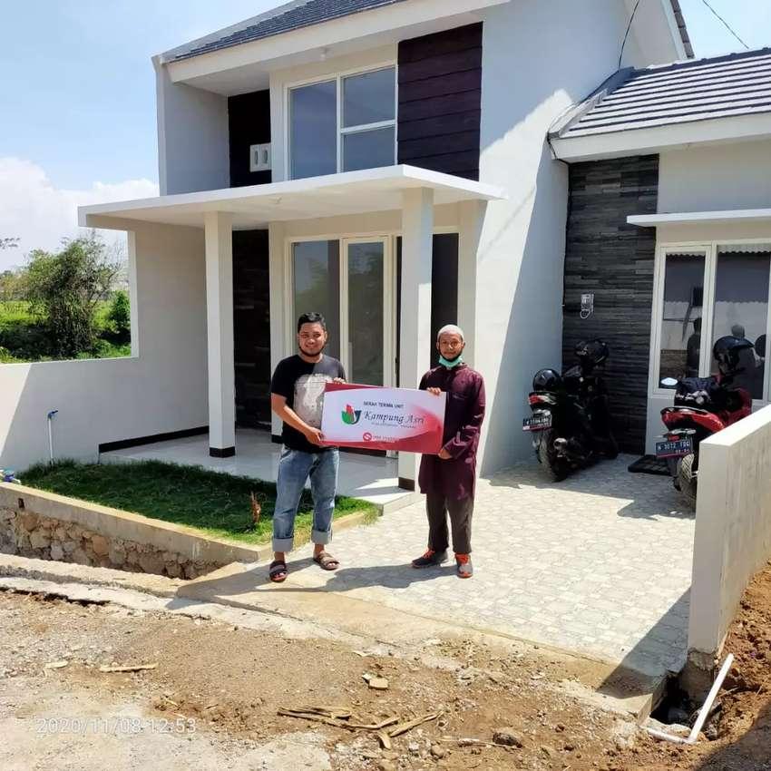 Promo rumah modern Kampung Asri Pandaan 0